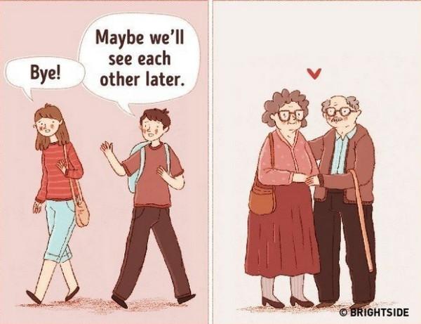 真正的爱正是支撑你们走向永远的根本