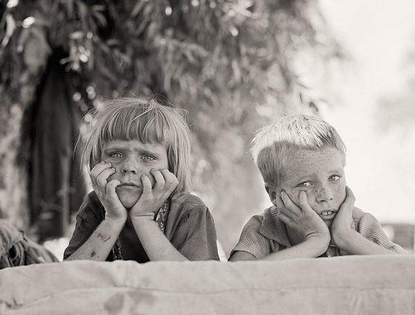 Dorothea Lange 美国大萧条纪实摄影集
