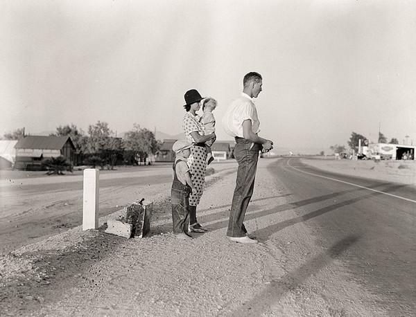 Dorothea Lange 美国大萧条纪实摄影集5