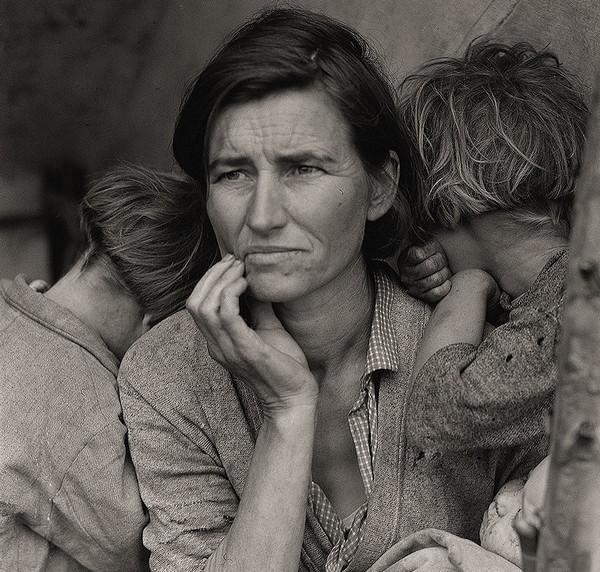 Dorothea Lange 美国大萧条纪实摄影集6