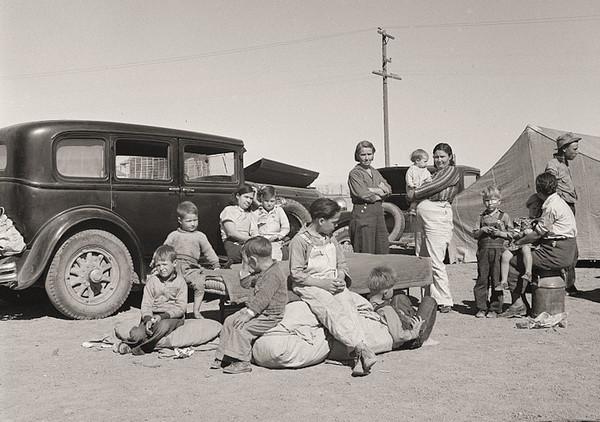Dorothea Lange 美国大萧条纪实摄影集2