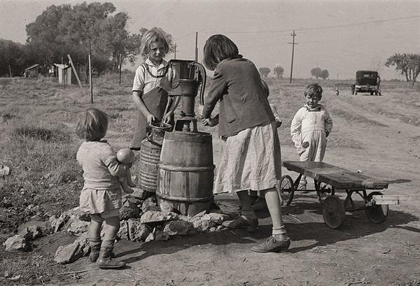Dorothea Lange 美国大萧条纪实摄影集1
