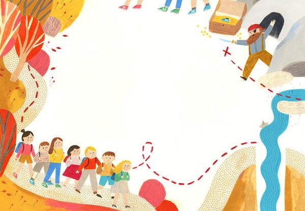 Beatrice Cerocchi 建筑师眼里的暖心插画集