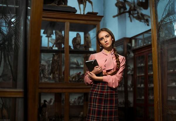 乌克兰美女学者