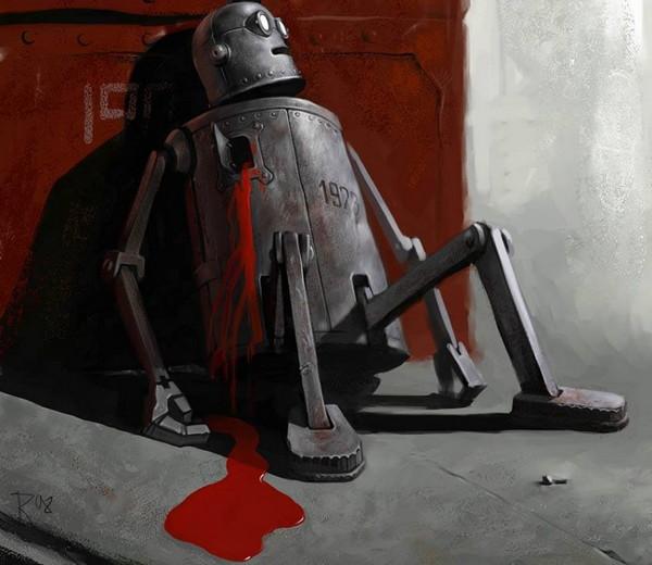 死亡的机器人
