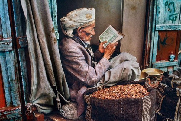 《On Reading》老人阅读