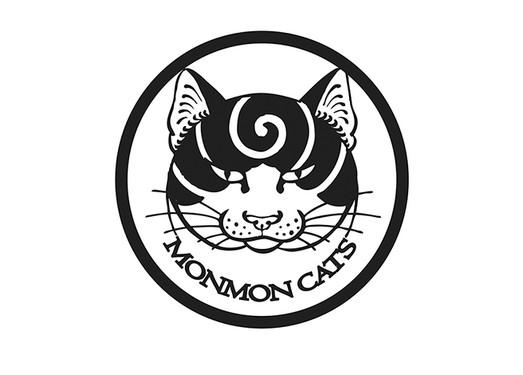 Monmon Cats 日本式纹身猫造型