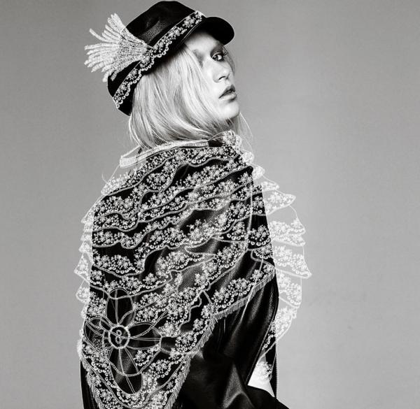 模特照片上的霓裳羽衣8