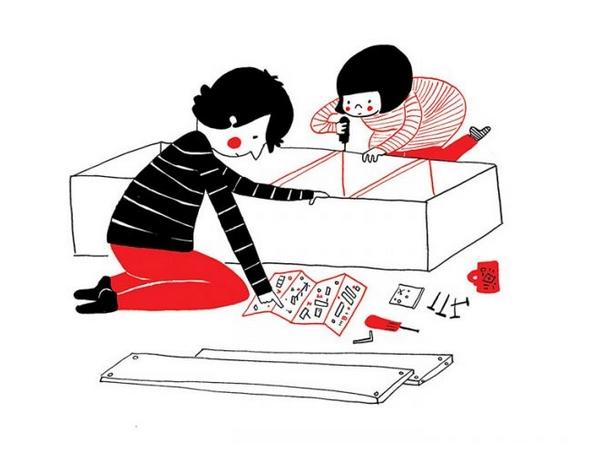 和你一起组装 IKEA 傢俱,就像在玩乐高,一手打造属于我们的家。